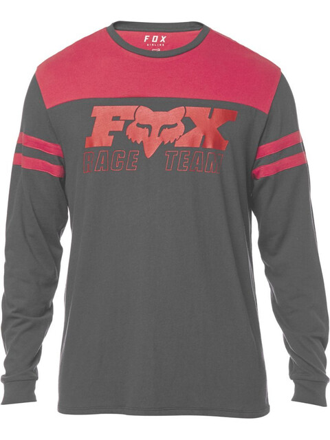 Fox Race Team Airline Longsleeve Heren rood/zwart